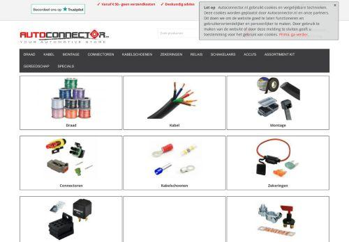 Screenshot van autoconnector.nl