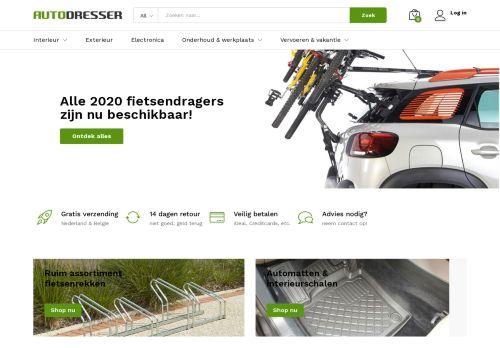 Screenshot van autodresser.nl