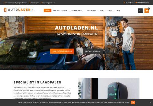 Screenshot van autoladen.nl