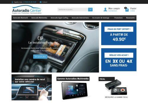 Screenshot van autoradiocenter.fr