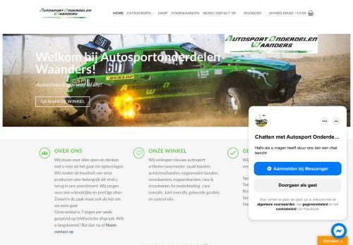 Screenshot van autosportonderdelen-waanders.nl