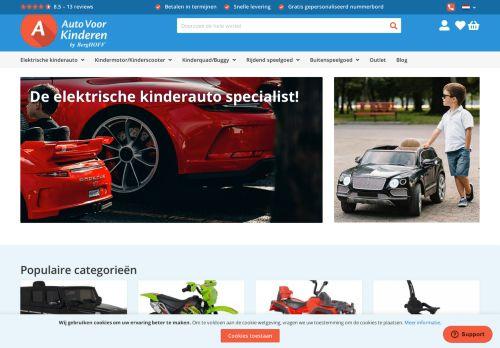 Screenshot van autovoorkinderen.nl