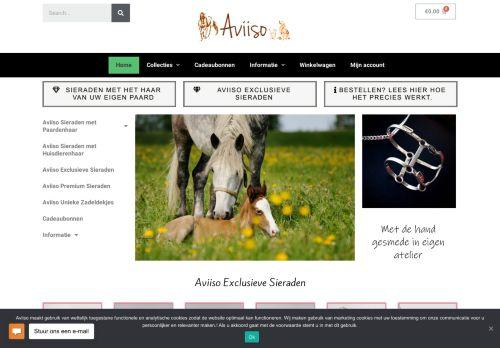 Screenshot van aviiso.nl
