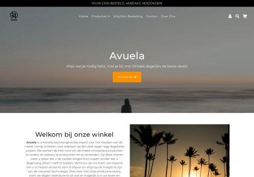 Screenshot van avuela.nl