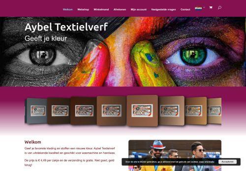 Screenshot van aybel.nl