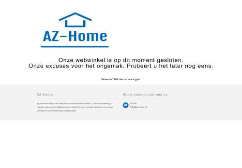 Screenshot van az-home.nl