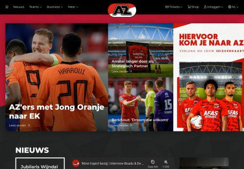 Screenshot van az.nl