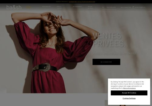 Screenshot van ba-sh.com