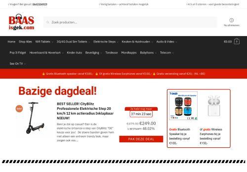 Screenshot van baasisgek.com