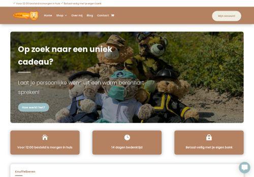 Screenshot van babbelberen.nl
