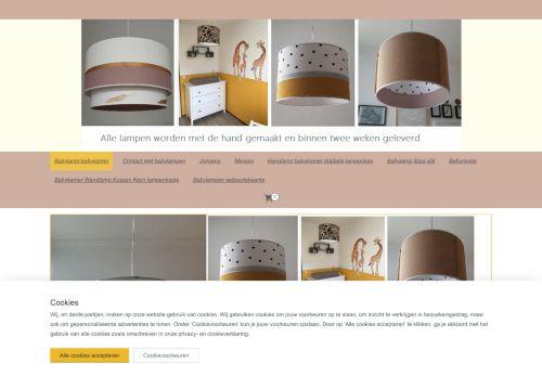 Screenshot van baby-lampen.nl