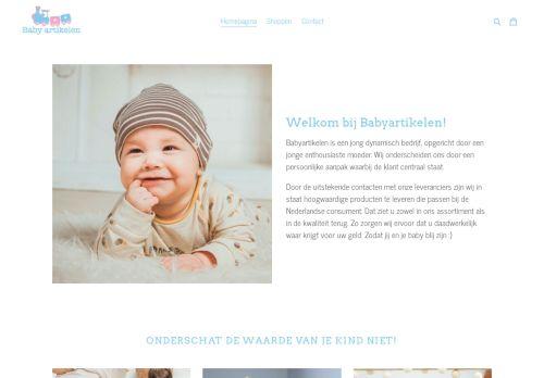 Screenshot van babyartikelen.store