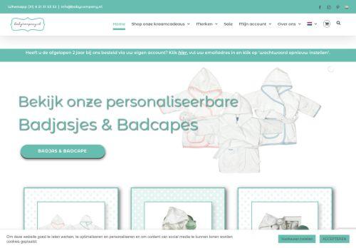Screenshot van babycompany.nl