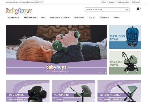 Screenshot van babyhuyswebshop.nl