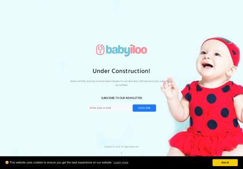 Screenshot van babyiloo.com