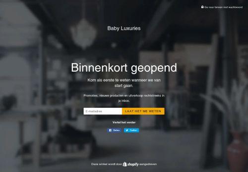 Screenshot van babyluxuries.nl