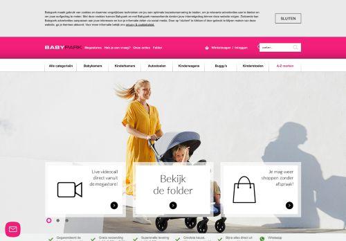 Screenshot van babypark.nl