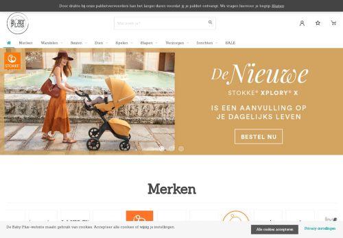 Screenshot van babyplus.nl