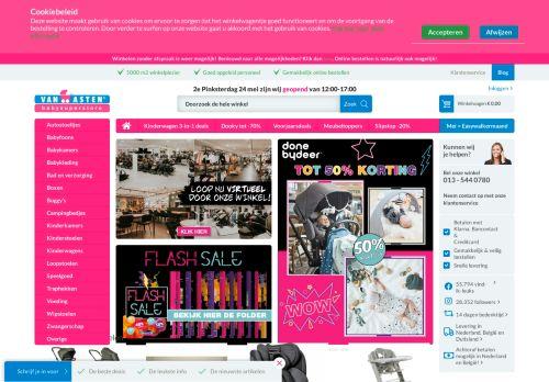 Screenshot van babysupershop.eu