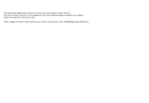 Screenshot van babyzaak-online.nl