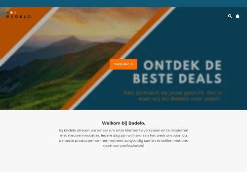 Screenshot van badelo.nl