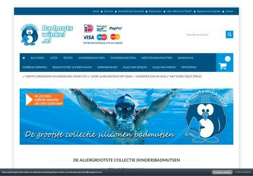 Screenshot van badmutswinkel.nl