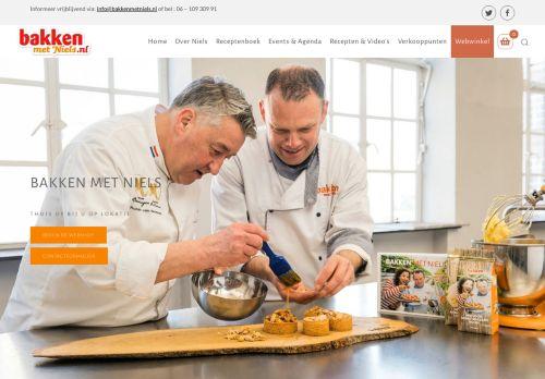 Screenshot van bakkenmetniels.nl