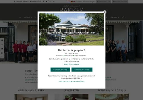 Screenshot van bakkerinvorden.nl