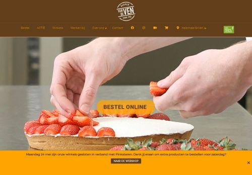 Screenshot van bakkervandeven.nl