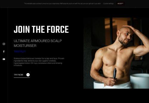 Screenshot van baldforce.com