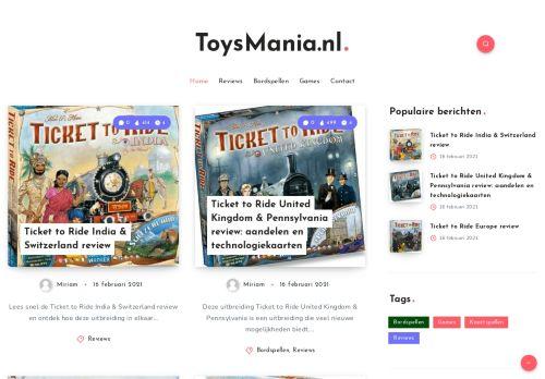 Screenshot van bambinotoys.nl