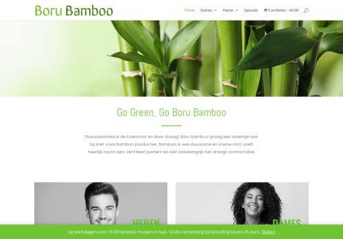 Screenshot van bamboo-socks.nl