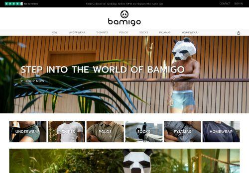 Screenshot van bamigo.com