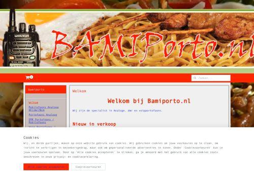 Screenshot van bamiporto.nl