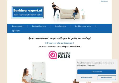 Screenshot van bankhoes-expert.nl