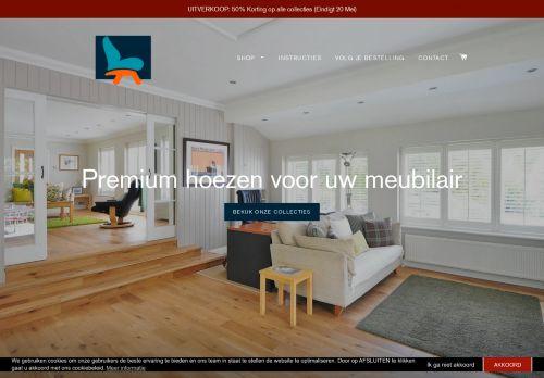 Screenshot van bankhoezenspecialist.nl