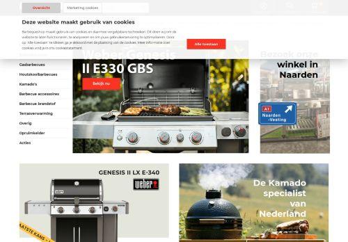 Screenshot van barbequeshop.nl