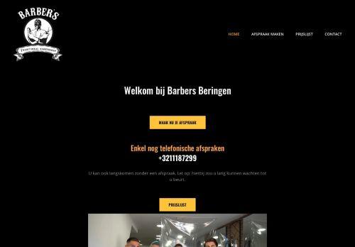 Screenshot van barbersberingen.be