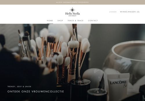 Screenshot van barino.nl