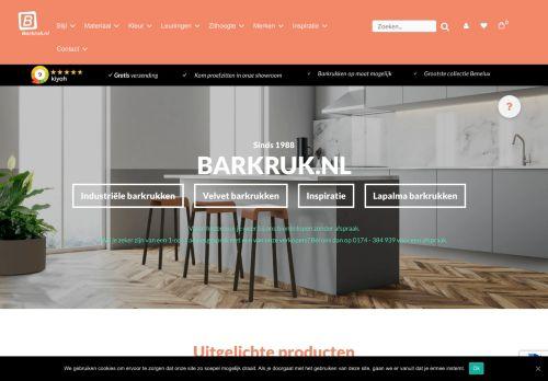 Screenshot van barkruk.nl