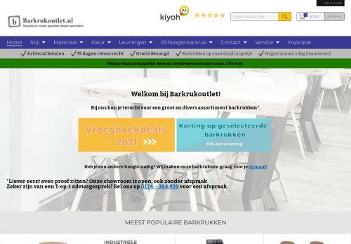 Screenshot van barkrukoutlet.nl