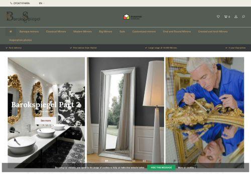 Screenshot van barokspiegel.nl