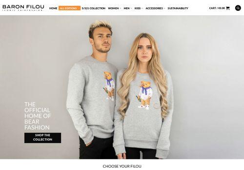 Screenshot van baronfilou.com