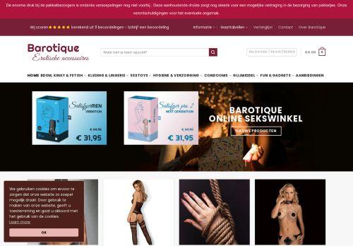 Screenshot van barotique.nl