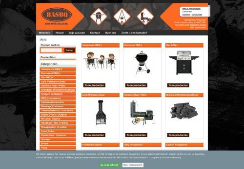 Screenshot van basbq.com
