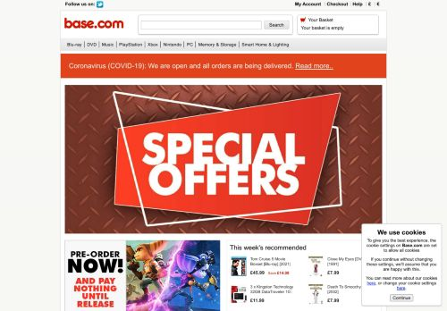 Screenshot van base.com