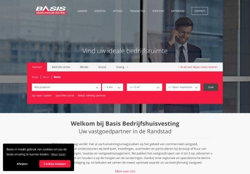 Screenshot van basis.nl