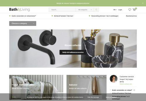 Screenshot van bath-living.com