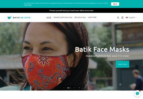 Screenshot van batikbesafe.com