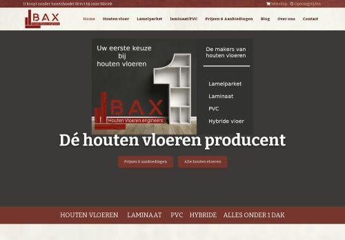 Screenshot van baxhouthandel.com